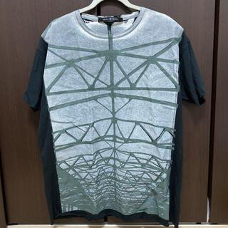 ノーアイディー(NO ID.)のNO ID. 天竺SteelプリントBIG-Tシャツ(Tシャツ/カットソー(半袖/袖なし))