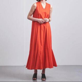 UNITED ARROWS - MARIHA マリハ 夏の月影のドレス 赤 レッド