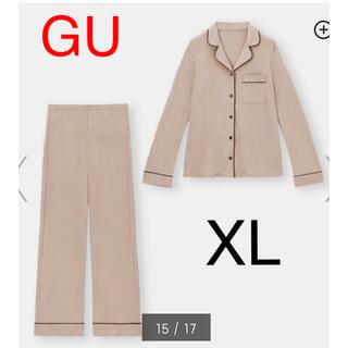 GU - (新品) GU カットソーパジャマ(長袖) XL ラスト1点