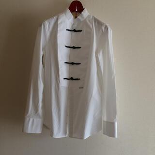 ディースクエアード(DSQUARED2)のDSQUARED2 チャイナ風ドレスシャツ イタリア製(シャツ/ブラウス(長袖/七分))