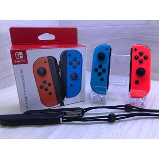 ニンテンドースイッチ(Nintendo Switch)の保証半年の美品!Nintendo Switch純正ジョイコン ネオン左右セット(その他)