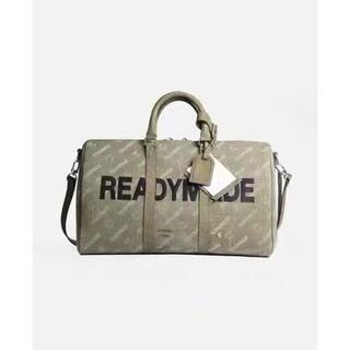 Readymade ロゴ総柄2WAYボストンダッフルバッグ(トラベルバッグ/スーツケース)