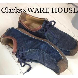 WAREHOUSE - Clarks×WARE HOUSE コラボ ナタリー デニム UK9 クラークス