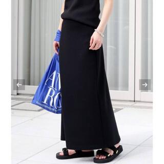 DEUXIEME CLASSE - Deuxieme Classe Jersey フレアスカート ブラック