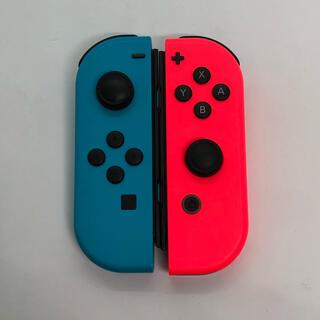 ニンテンドースイッチ(Nintendo Switch)の【ジャンク品】Joy-Con(ネオンカラー)(その他)