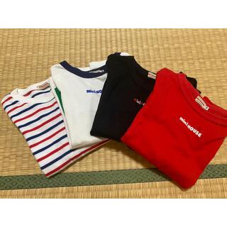 mikihouse - ミキハウス 長袖Tシャツ 4枚セット 110