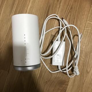 ファーウェイ(HUAWEI)のau Speed Wi-Fi HOME WHITE L01s HWS32MWA(PC周辺機器)