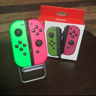 ニンテンドースイッチ(Nintendo Switch)のNintendo Switch ジョイコン L R スプラトゥーンカラー(その他)