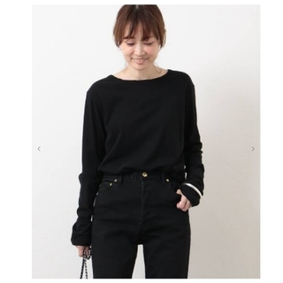 DEUXIEME CLASSE - タグ付 Deuxieme Classes  Skew Tシャツ ブラック