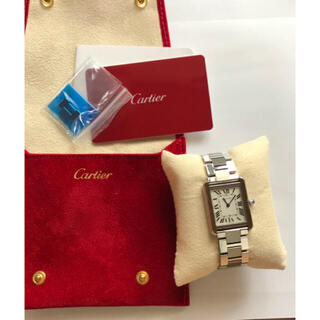Cartier - カルティエ タンクソロ SM  ステンレススチール