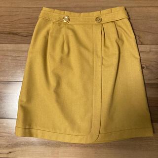 インタープラネット(INTERPLANET)のスカート サイズ36(ひざ丈スカート)