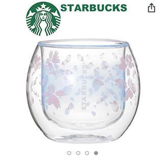 Starbucks Coffee - スターバックス SAKURA2019 ダブルウォールグラスクリアドロップ