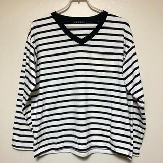 イング(INGNI)のボーダーtシャツ(Tシャツ(長袖/七分))
