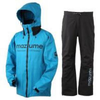 mazume コンタクトレインスーツ ターコイズ XLサイズ マズメ(ウエア)