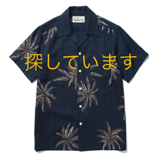 WACKO MARIA - 探しています ワコマリア アロハシャツ パームツリー