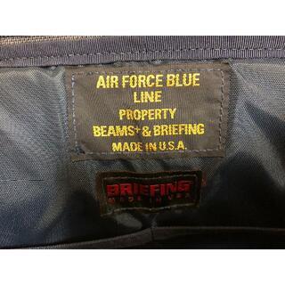 ブリーフィング(BRIEFING)のブリーフィング & BEAMS+ コラボ ショルダー B4 極美品 AIR FO(ショルダーバッグ)