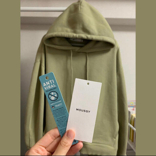 moussy - moussy マウジー パーカー COCOON SLEEVE HOODIE