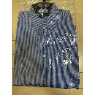 エイチアンドエム(H&M)のH&M ストライプシャツ イージーアイロン Mサイズ(シャツ)