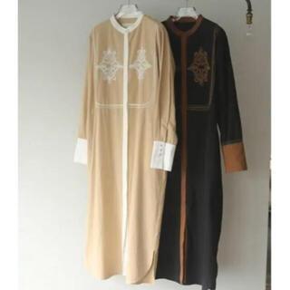 TODAYFUL - TODAYFUL embroidery shirt dress