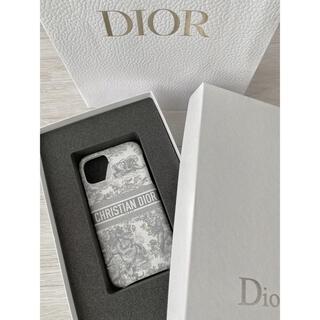 クリスチャンディオール(Christian Dior)のDior travel iphoneケース iphone11pro グレー(iPhoneケース)