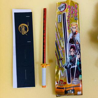鬼滅の刃 日輪刀型 鉛筆&キャップセット 煉獄杏寿朗