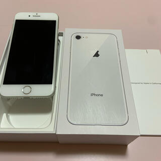 iPhone - iPhone8  64GB シルバー