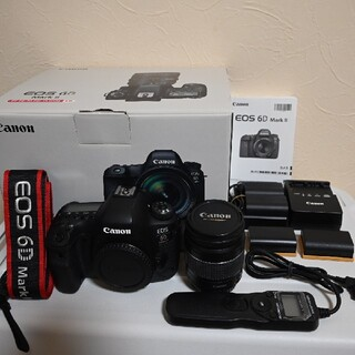 Canon - Canon 6D MarkⅡボディ、レンズ、リモコン等