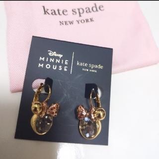 kate spade new york - 【新品】kate spade  ケイトスペード  ミニーマウス ピアス