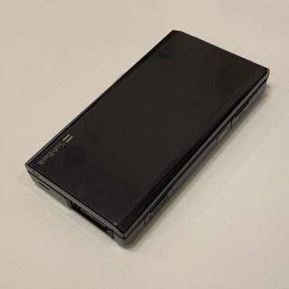 サムスン(SAMSUNG)のソフトバンク 740SC ブラック(携帯電話本体)