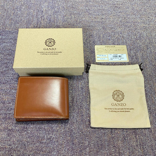 ガンゾ(GANZO)のBRIDLE CASUAL (ブライドルカジュアル)小銭入れ付き二つ折り財布  (折り財布)