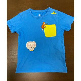 Design Tshirts Store graniph - グラニフ    おさるのジョージ シャツ 110(120) 中古