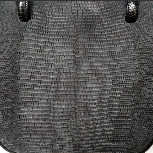 フォーマルバッグ  ハンドバッグ  グレージング  リザード レディースのバッグ(ハンドバッグ)の商品写真
