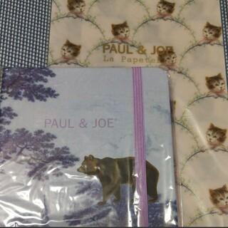 ポールアンドジョー(PAUL & JOE)のPAUL & JOE ポールアンドジョー メモ帳 チケットホルダー(ノート/メモ帳/ふせん)