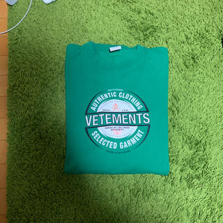 vetements ビールバッジ オーバーサイズ Tシャツ