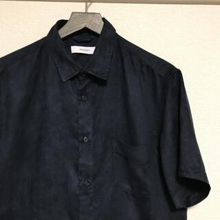 【未使用】2019年モデル INHERIT 半袖シャツ ベロア(Tシャツ/カットソー(半袖/袖なし))
