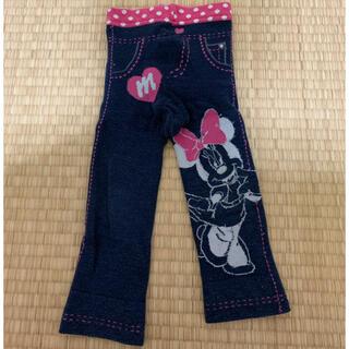 ディズニー(Disney)のDisney デニム風ベビーレギンス 75cm(パンツ)