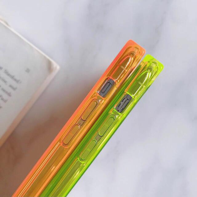 iPhone12 Pro Max 透明ケース スクエア ブラック スマホ/家電/カメラのスマホアクセサリー(iPhoneケース)の商品写真