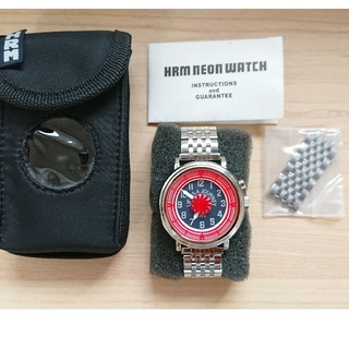 HOLLYWOOD RANCH MARKET - ★美品★ネオンウォッチ7★ハリウッドランチマーケット★腕時計★レッド