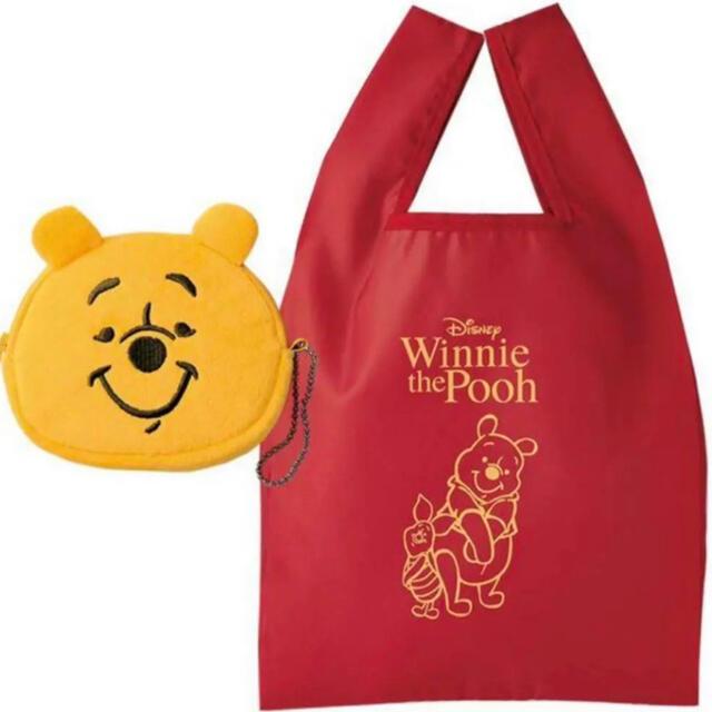 SPRiNG6月号付録セブンイレブン限定 くまのプーさんエコバッグ&ポーチセット レディースのバッグ(エコバッグ)の商品写真
