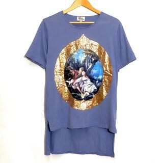 Vivienne Westwood - ヴィヴィアンウエストウッド 絵画プリント ロング丈 Tシャツ