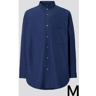 UNIQLO - 《未開封》ユニクロ +J スーピマコットンレギュラーフィットシャツ ブルー M