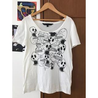 マークジェイコブス(MARC JACOBS)のマークジェイコブス Tシャツ スカル ドクロ(Tシャツ(半袖/袖なし))