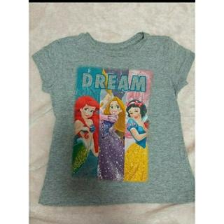 ディズニー(Disney)のXXSサイズ ディズニーストア グレー 半袖 Tシャツ プリンセス ラプンツェル(Tシャツ/カットソー)