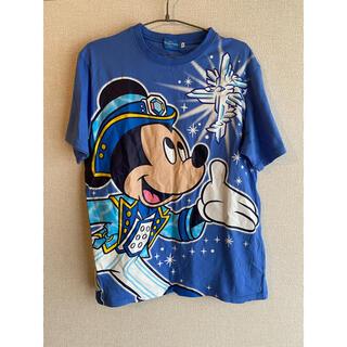 ディズニー(Disney)の古着 東京ディズニーシー Disney 15周年 ミッキーマウス 半袖 Tシャツ(Tシャツ/カットソー(半袖/袖なし))