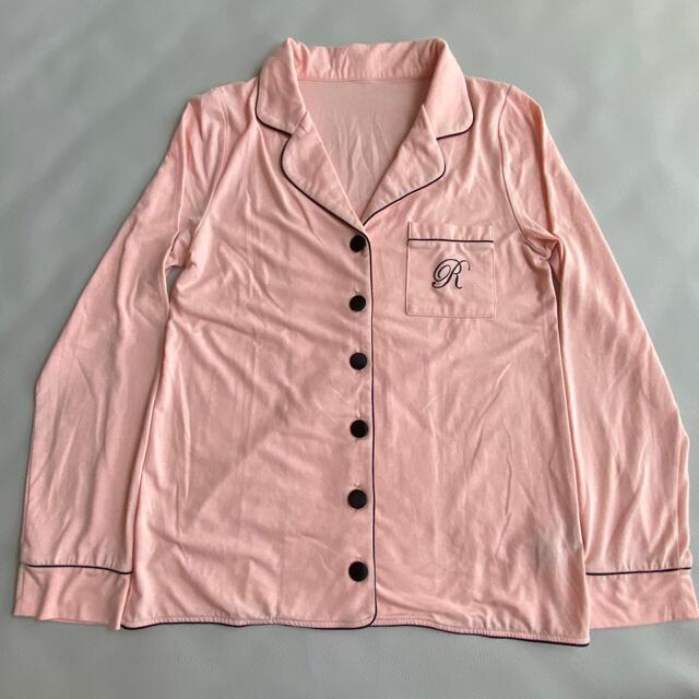 Ravijour(ラヴィジュール)のravijour ラヴィジュール ルームウェア パジャマ 部屋着 ピンク 古着 レディースのルームウェア/パジャマ(ルームウェア)の商品写真