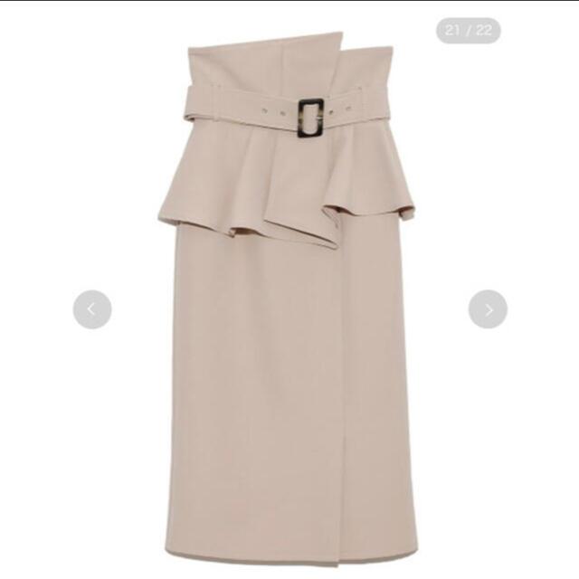 snidel(スナイデル)のSNIDEL コルセットベルトタイトスカート レディースのスカート(ひざ丈スカート)の商品写真
