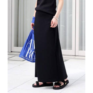 DEUXIEME CLASSE - ドゥーズィエムクラス Jersey フレアスカート ブラック