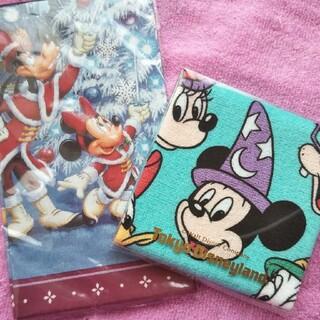 ディズニー(Disney)の新品 未使用 東京ディズニーランド お土産 ハンカチ レトロ(キャラクターグッズ)