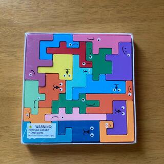 木製パズル 知育おもちゃ 木製おもちゃ ブロック パズル(知育玩具)