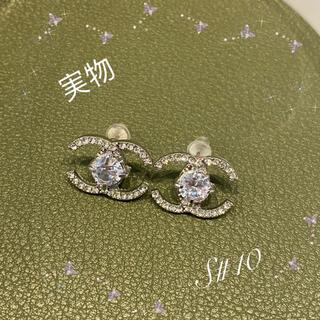 4℃ -  CCデザイン 大人気♡ピアスキラッと輝くピアス S#10